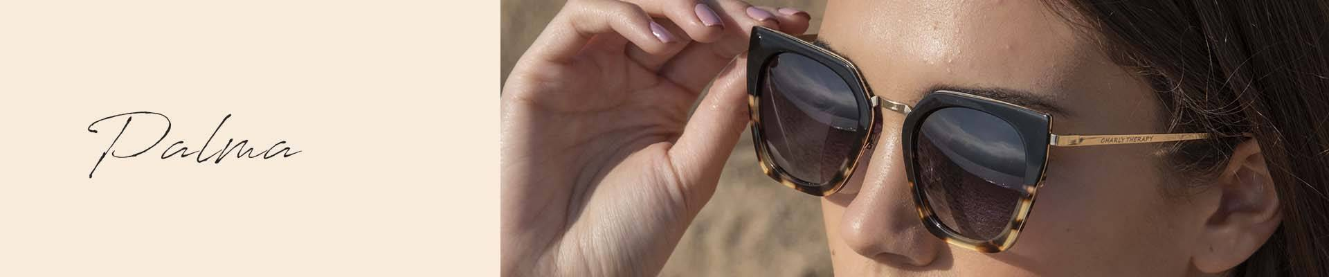 Palma, cat-eye sunglasses from Charly Therapy