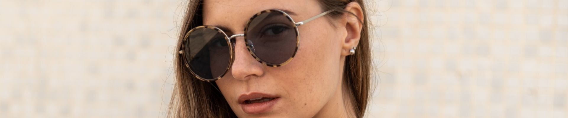 Retro style metal frame sunglasses from Charly Therapy