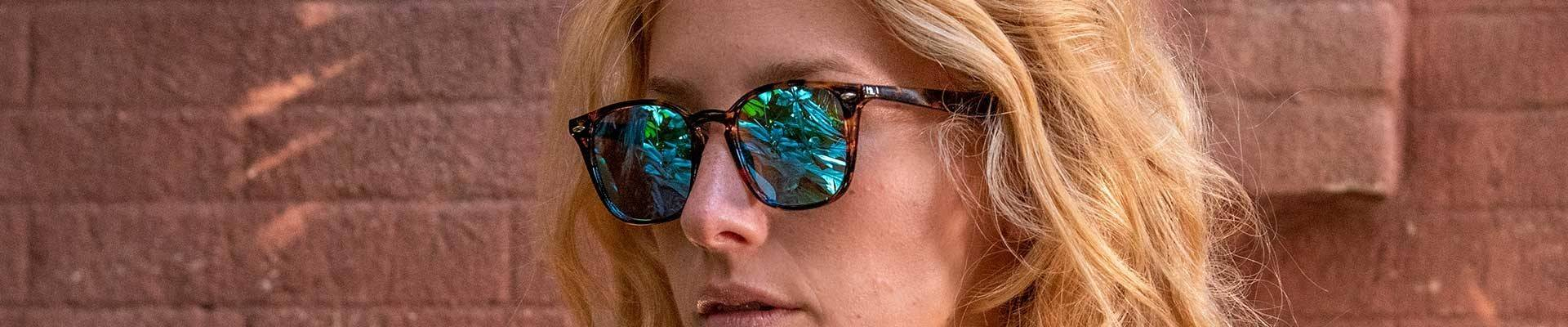 Mirrored sunglasses by Charly Therapy