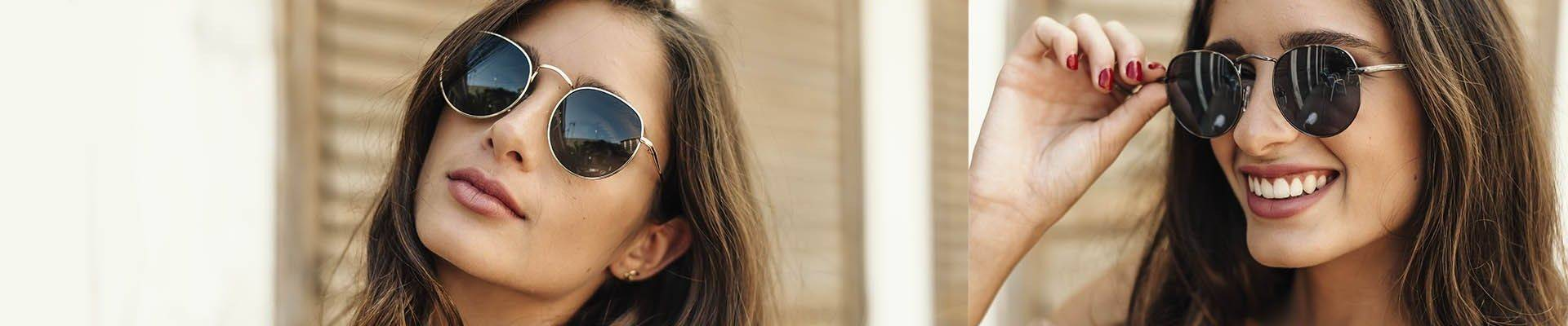 Retro style sunglasses inspired by the 60's from Charly Therapy