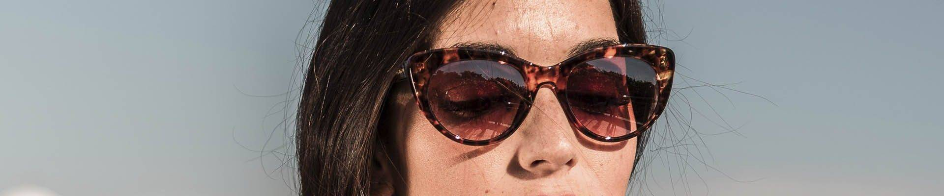 Mini cat-eye sunglasses by Charly Therapy
